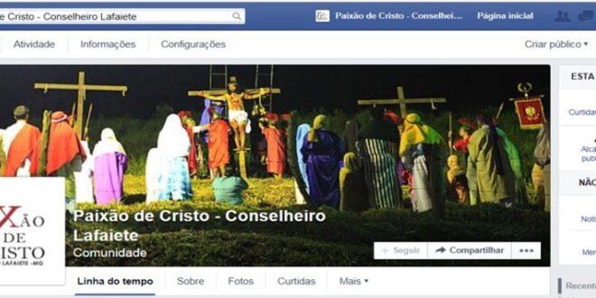 Print de uma das páginas prejudicadas com o cancelamento da conta do jornalista pelo Facebook